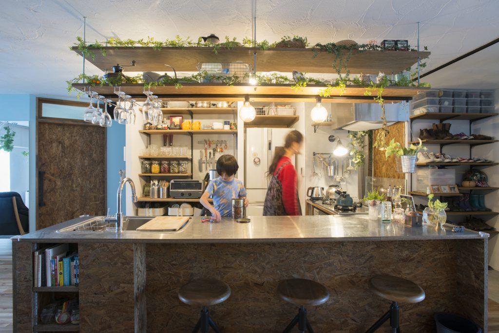 平山邸のキッチン