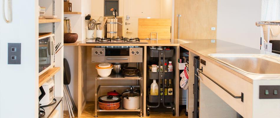 大倉山のリノベーション事例キッチン