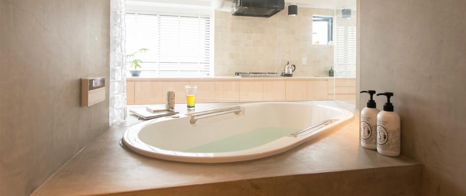 代々木上原のリノベーション事例お風呂
