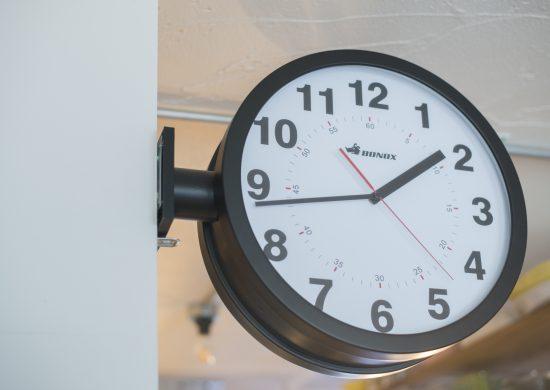 平山邸の時計
