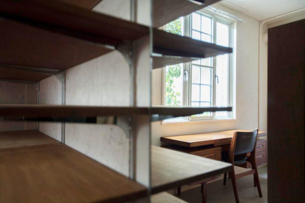 本牧の書斎