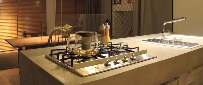 目黒のリノベーション事例キッチン
